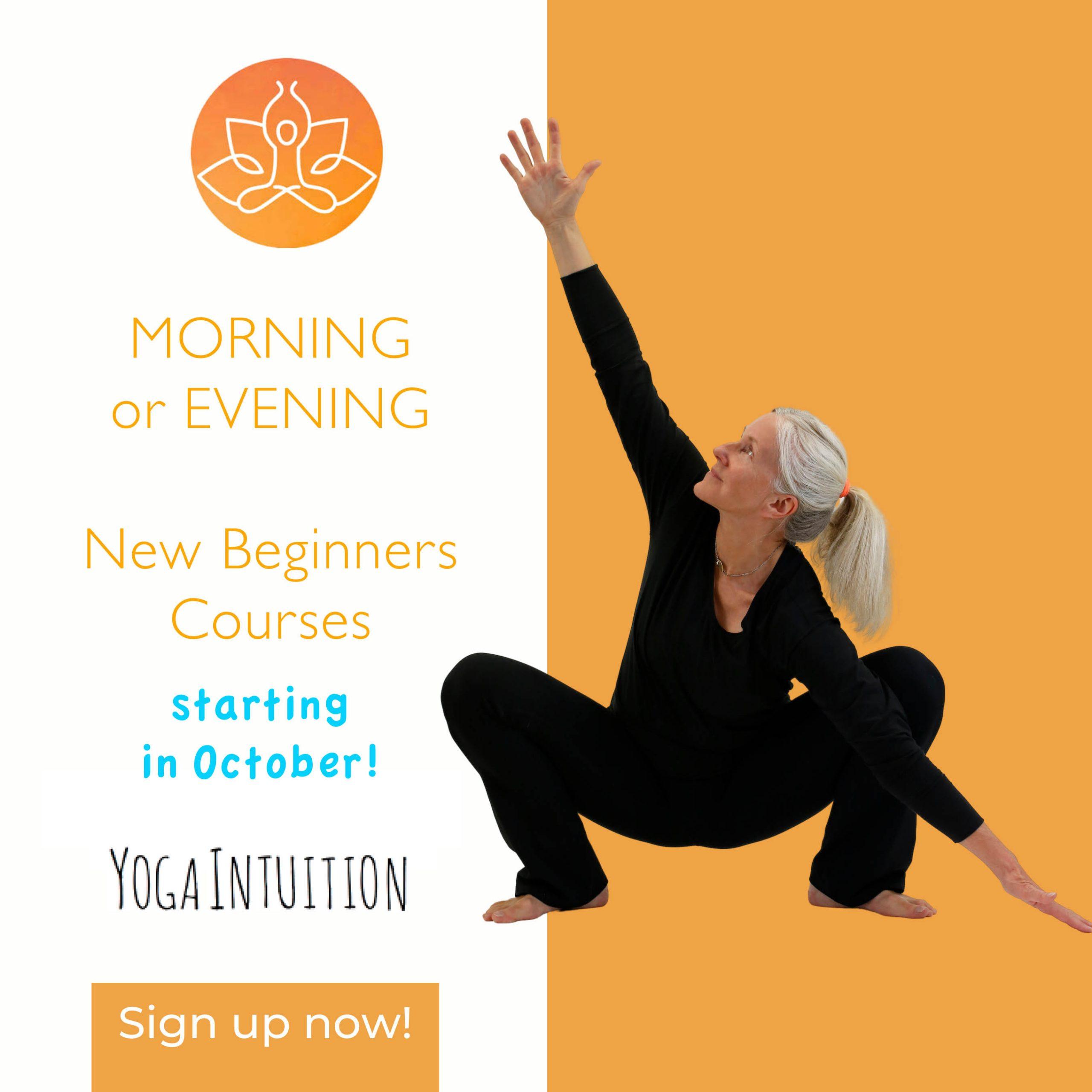 Ad EVENING & MORNING Beginner Course Oct